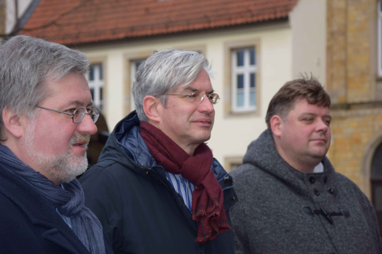 v.l. Stephan Albani, Dr. Mathias Middelberg, Jens Nacke