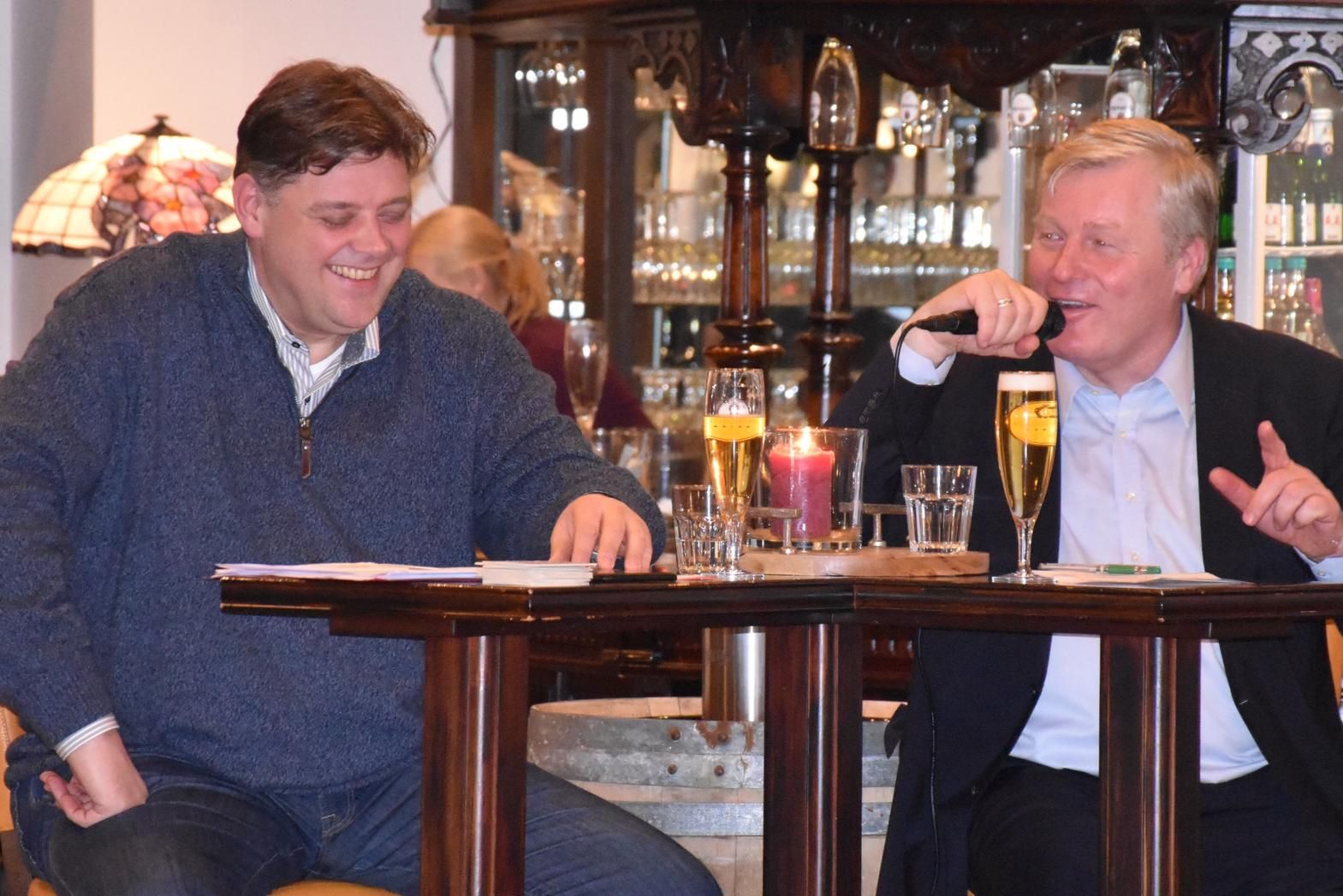 v.l.: Jens Nacke MdL und Bernd Althusmann MdL