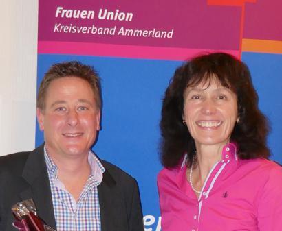 Vortrag: Michael Herrmann, Richter am Landgericht, und Corinna Martens, Vorsitzende der Frauen Union.