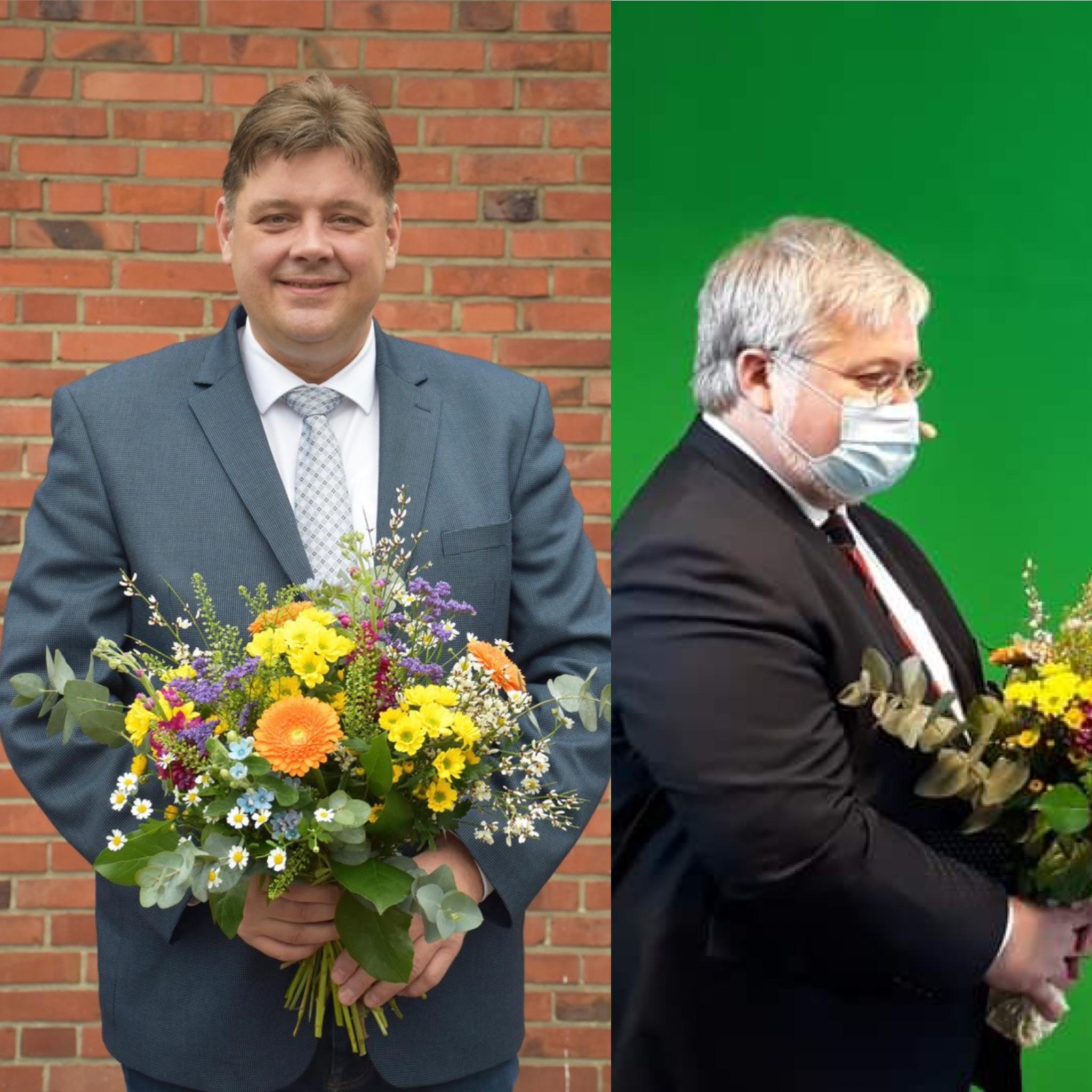 v.l. Jens Nacke, Stephan Albani